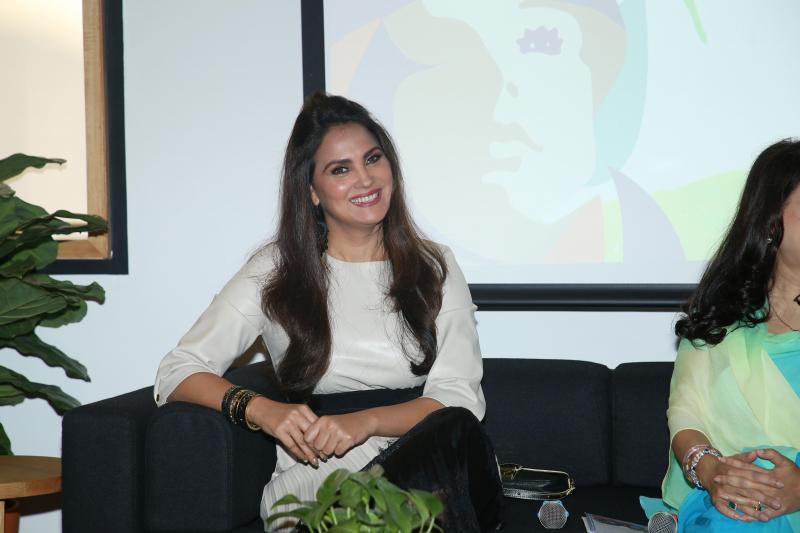 Lara Dutta at Airbnb women's day event at worli