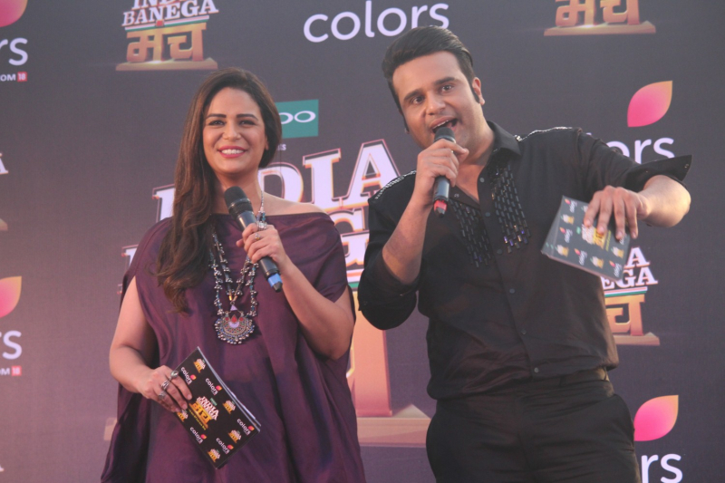 Launch Of Colors India Banega Manch