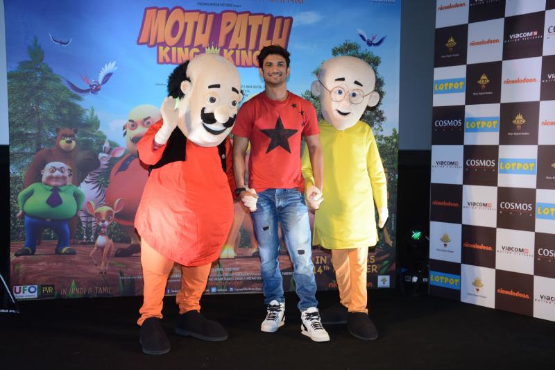 Motu Patlu - King Of Kings Trailer launch