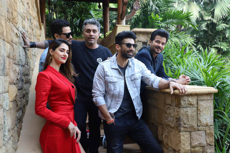 Movie Malang team spotted promoting their film at jw marriot juhu