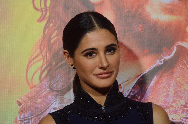 Nargis Fakhri attend Banjo movie Promotion
