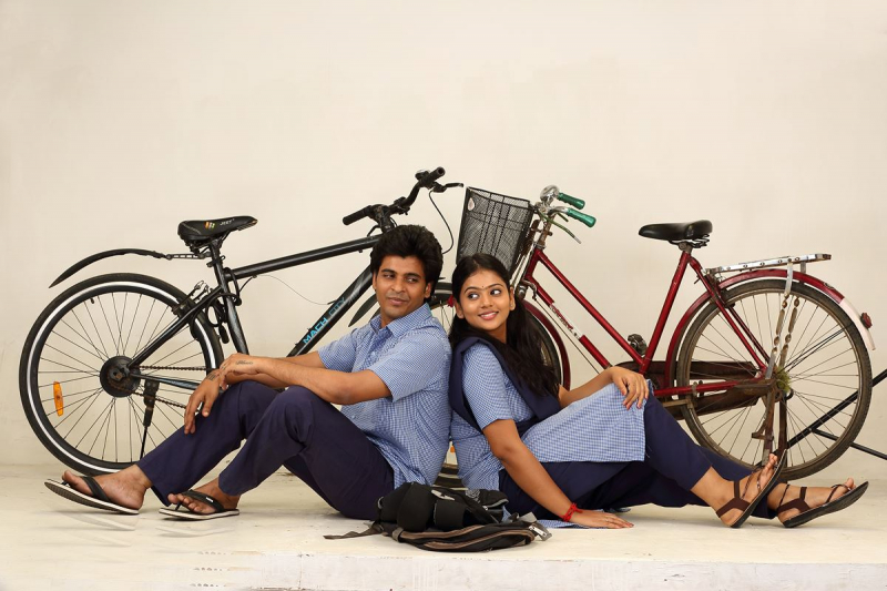 Movie still from Pazhagiya Naatkal