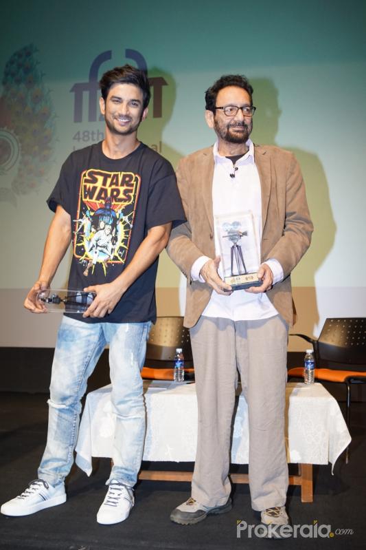 Mr Shekhar Kapur, Film Director along With Sushant Singh Rajput