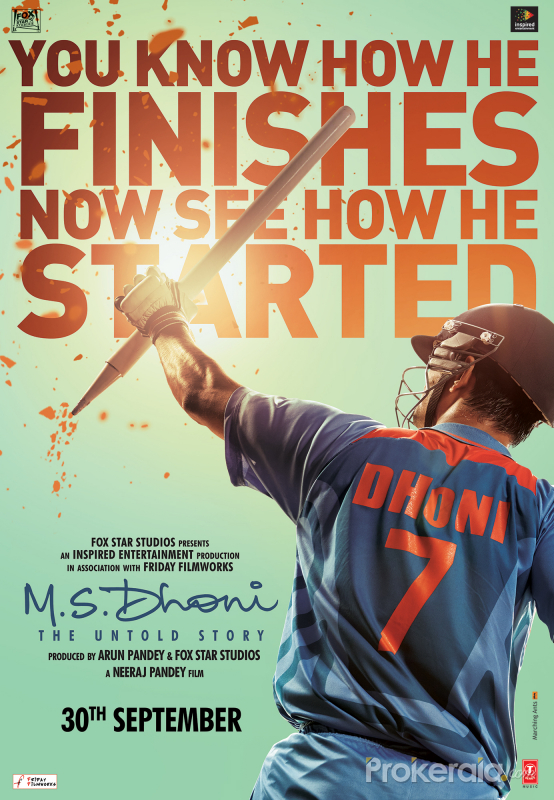 M S Dhoni The Untold Story Movie Wallpapers Posters Stills