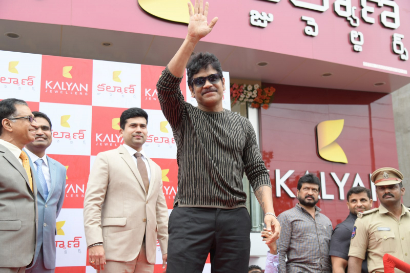 Nagarjuna launches as rao nagar kalyan jewellers