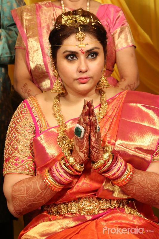 Namitaa Veera Marriage Stills Photo