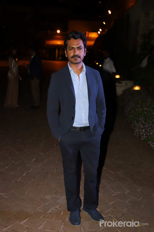 Nawazuddin Siddiqui at the launch of Neeta Shah's book The Stranger