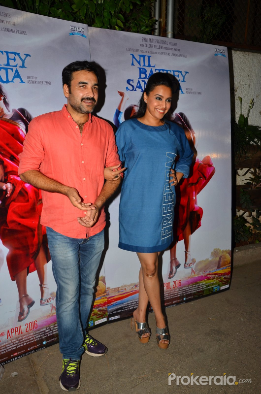 Nil Battey Sannata movie Spevial Screening