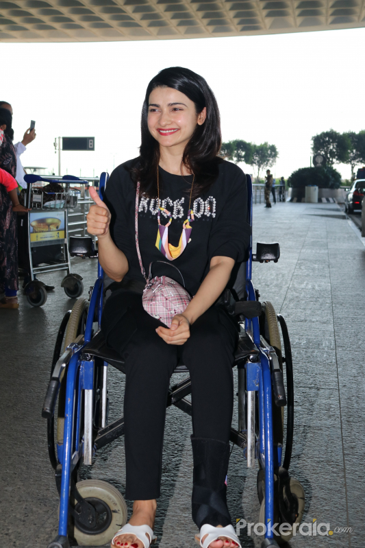 Prachi Desai Spotted At Airport Departure