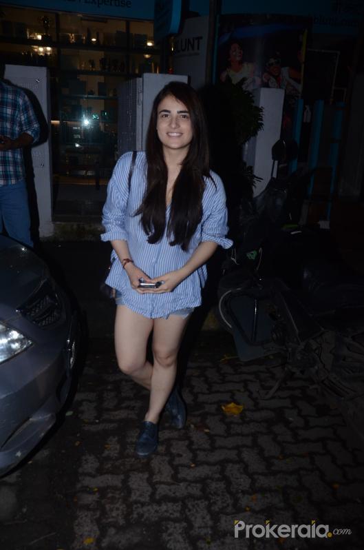 Radhika Madan spotted at Bblunt in Khar