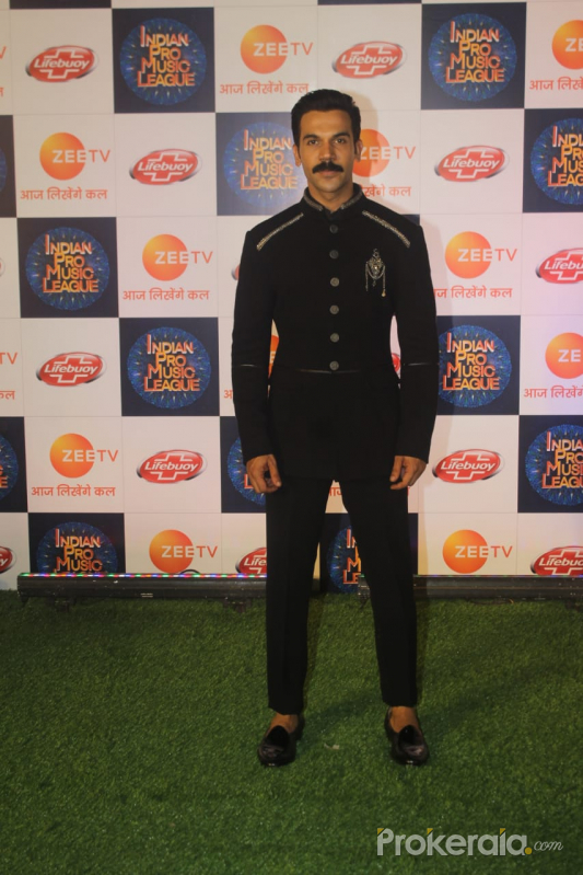 Raj Kumar Rao@  Indian Pro Music League Filmcity