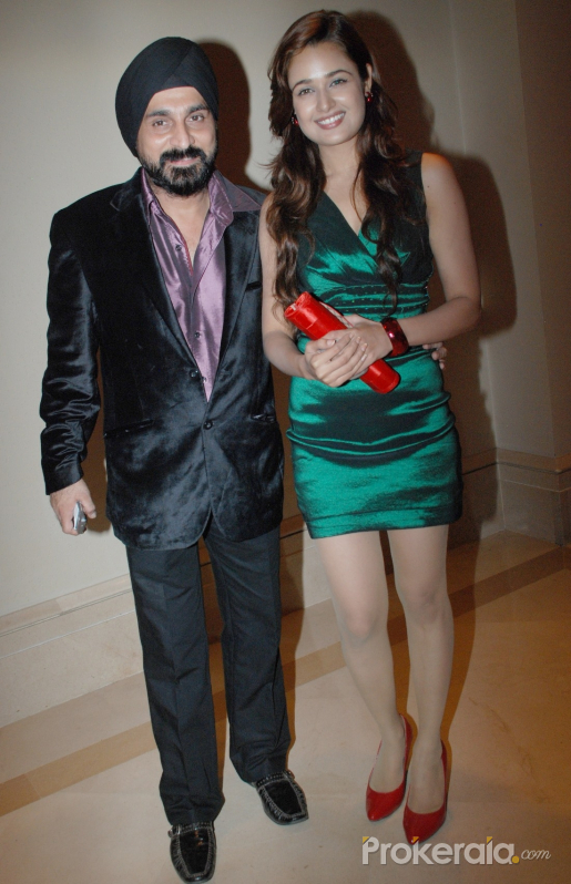 Raj Suri and Yuvika Chaudhary at DHL 3Rd Rock Fashion Show 2010 held at J.W.Marriott Juhu on 21st Sep, 2010