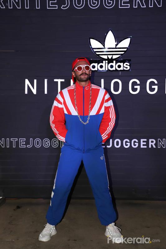 Ranveer Singh at the launch of Nite Joggers