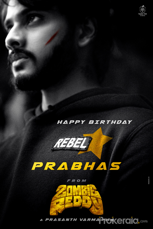 Rebel Star #Prabhas Birthday wishes from Team #Zombie Reddy