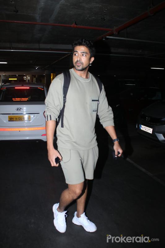 Saqib Saleem Spotted AtAirport Arrival