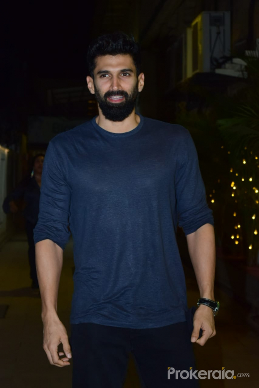 Aditya Roy Kapur, At Schedule Wrap Party For The Movie Om- The Battle Within in Juhu