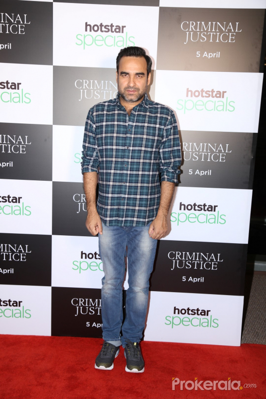 Screening of Hotstar's web series Criminal Justice