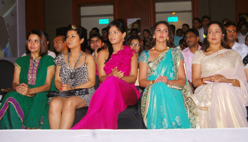 Sharon Prabhakar, Hard Kaur, Neetu Chandra, Esha Deol and Hema Malini
