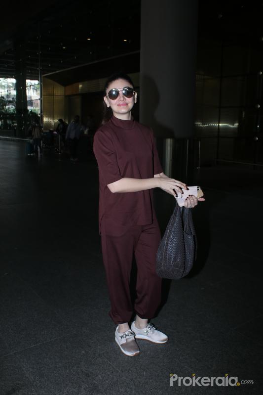 Shefali Jariwala Spotted At Airport Departure