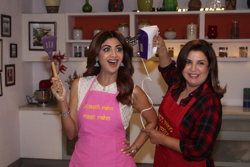 Shooting Of Special Eid Episode With Shilpa Shetty And Farah Khan Photo