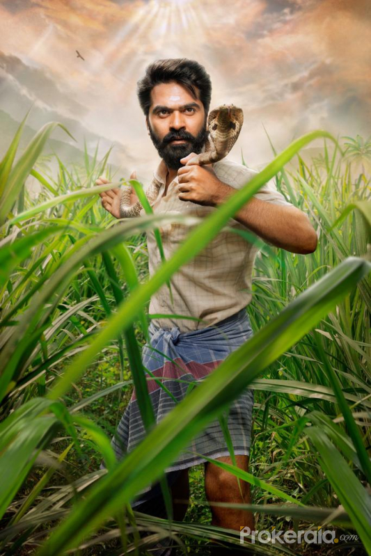 Simbu's  Eeswaran movie stills