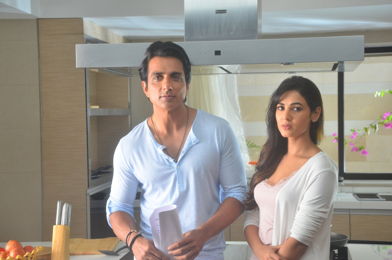 Sonu Sood and Sonal Chauhan Still