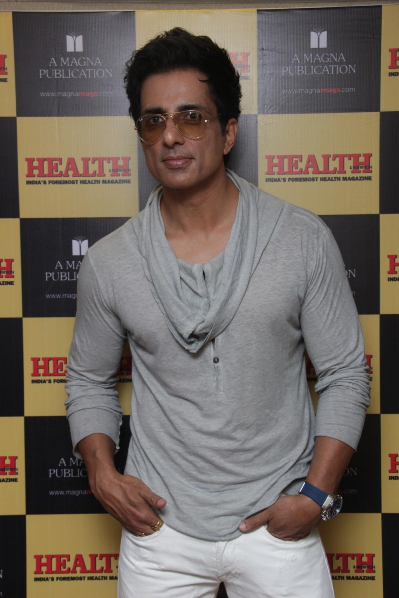 Sonu Sood Flaunts His Abs On The Cover Of A Health Magazine