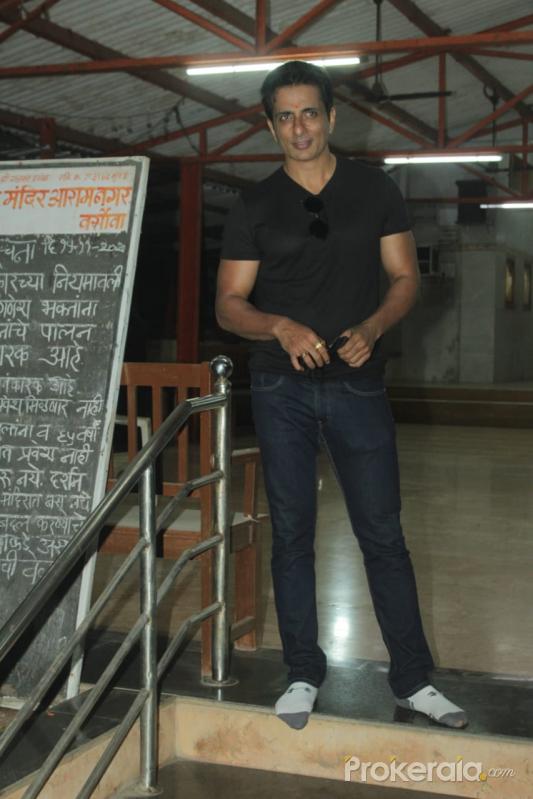 Sonu Sood Spotted At Versova Andheri