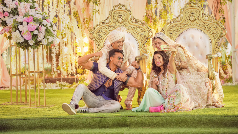 Still photo from movie Baaghi 3