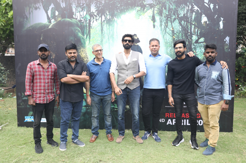 Actor Rana Daggubati New MovieTeaser Launch Event Photo