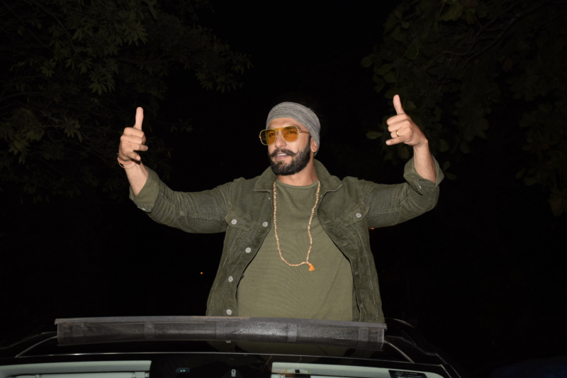 Simmba Success Party At Karan Johar's House
