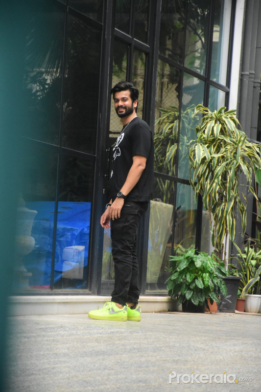 Sunny Kaushal Spotted In Bandra
