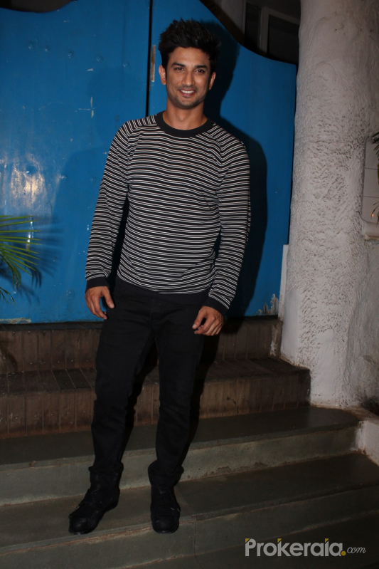 Bollywood Movie Kedarnath team meets for dinner in Olive with Sushant Singh Rajput