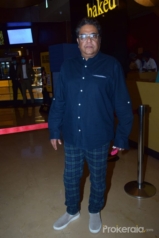 The special screening of Late actor Om Puri and Jagdeep Jaffrey's last film Omprakash Zindabad with Zakir Hussain