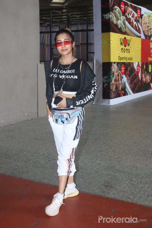 Tina Dutta Spotted At Airport Arrival