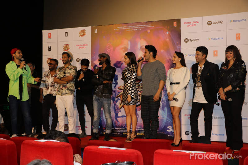 Trailer Launch Of Film Street Dancer With Stars