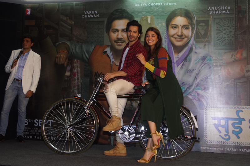 Varun Dhawan and Anushka Sharma Celebrate The Spirit Of Entrepreneurship