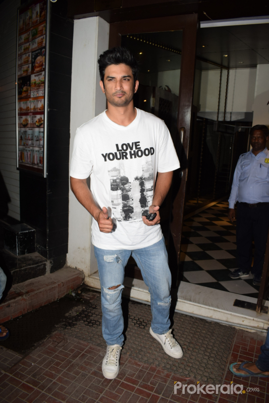 Wrapup party of film Stree at Bastian in bandra