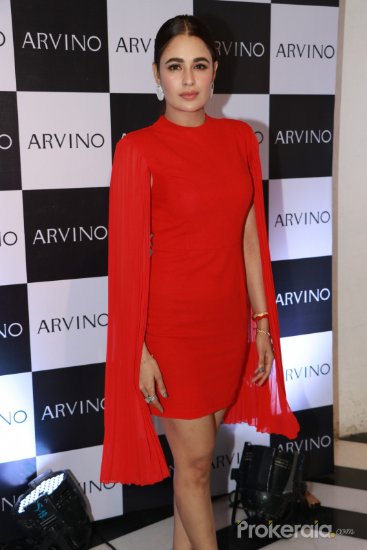Yuvika Choudhary at the Press Conference Of Arvino Jewellery Brand.