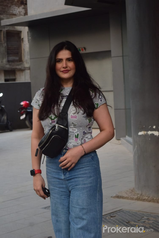 Zareen Khan spotted in Andheri
