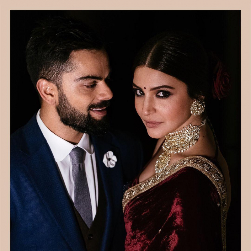 Wedding Pictures of Virat Kohli and Anushka Sharma