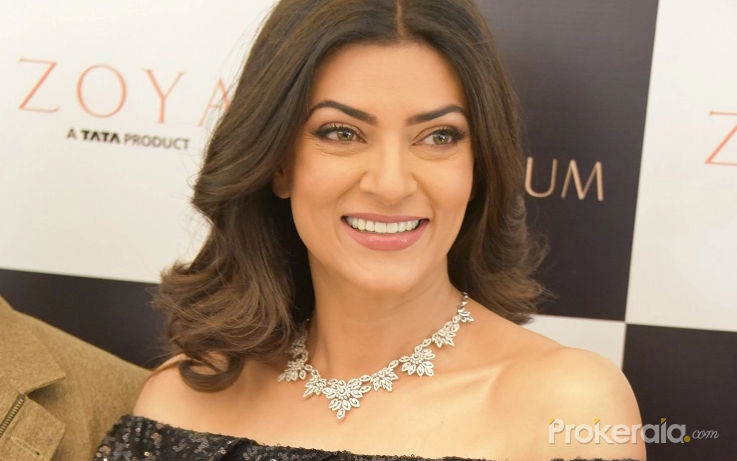 Sushmita Sen's beau and d