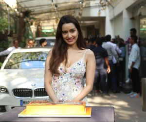 Actress Shraddha Kapoor in Baaghi 3 promotions at Sunny sound juhu
