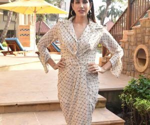 Actress Sonali Seygall at the promotions of film Jai Mummy Di.