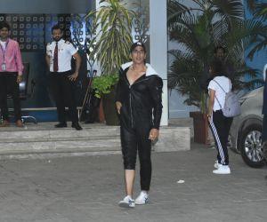 Actor Akshay Kumar at airport in Kalina