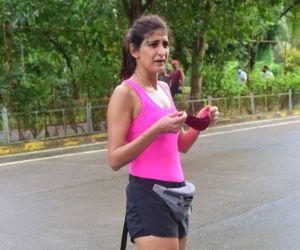 Aahana Kumra spotted at andheri