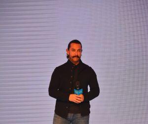 Aamir Khan at launch of Vivo V11 Pro