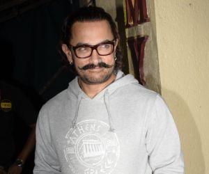 Aamir Khan Spotted At Myrah Juhu