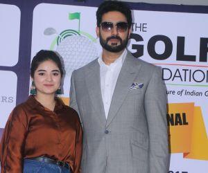 Abhishek Bachchan and Zaira Wasim Attends The '5th Edition Of Pro-Am Championship'