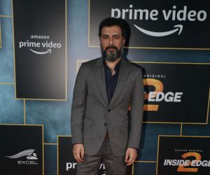"""Actor Aamir Bashir during the launch of upcoming web series """"Inside Edge Season 2"""""""